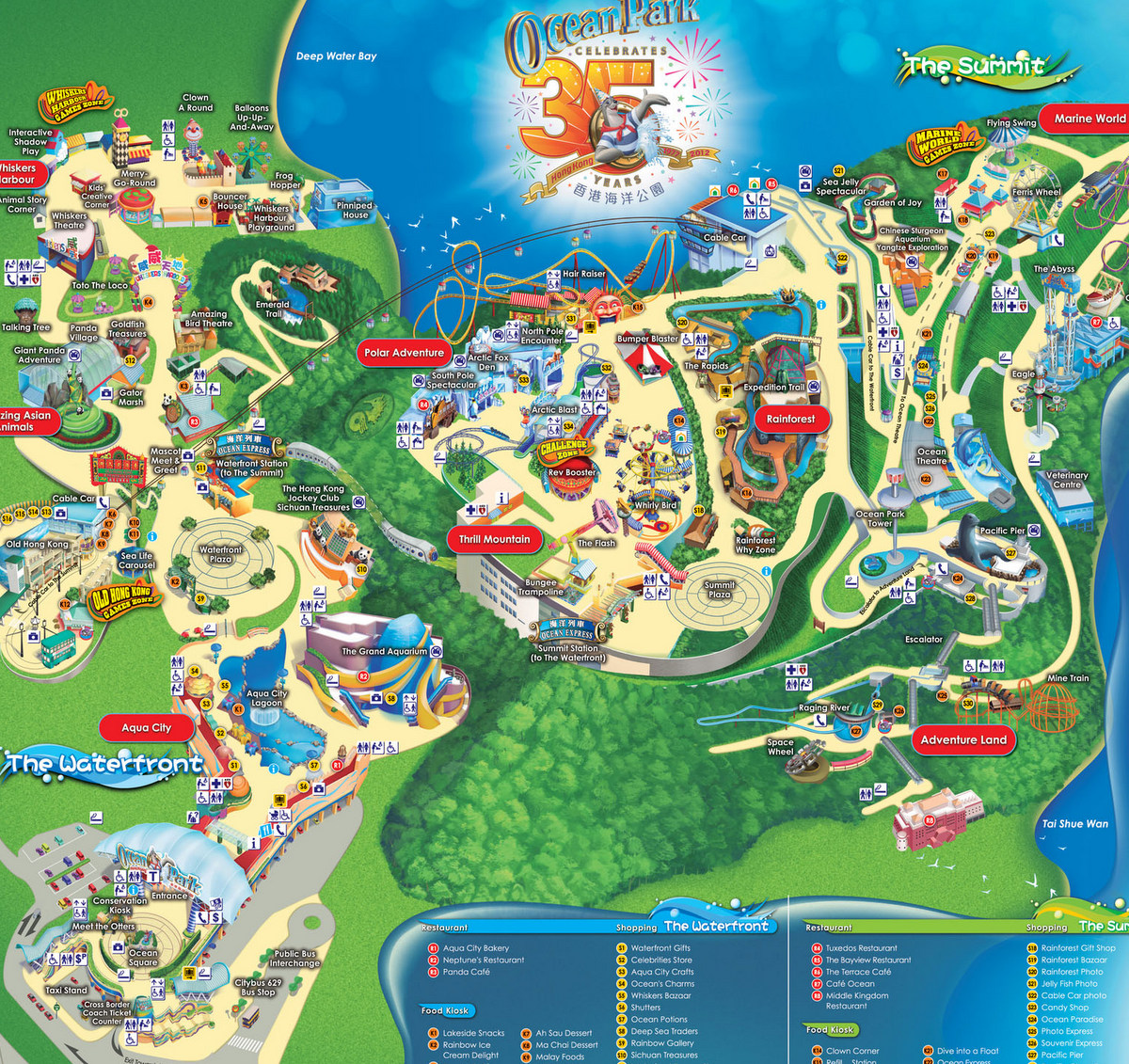 hong kong s ocean park taking on disney Exec's ocean park hong kong is thriving in the face of competition from the new disneyland.