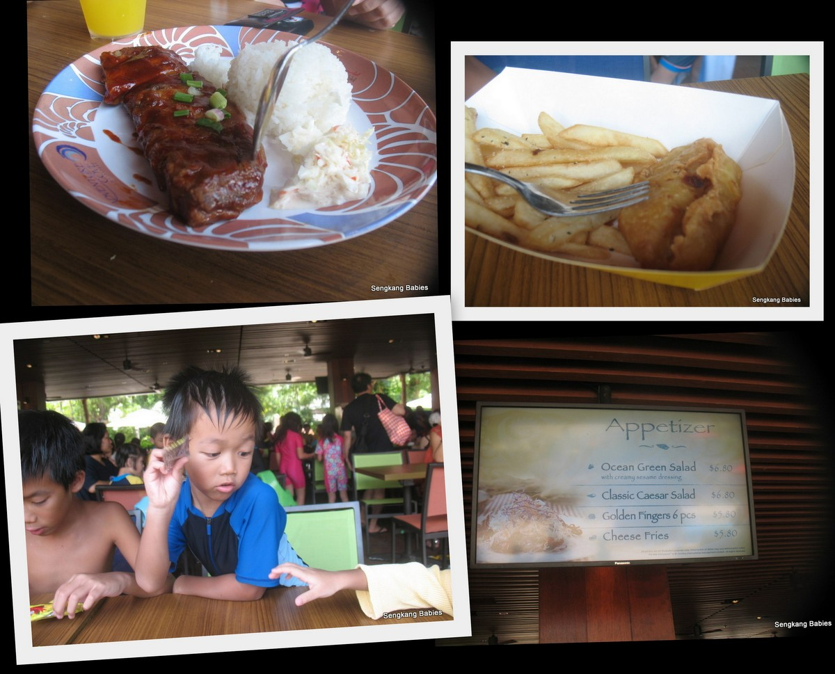 adventure cove F&B