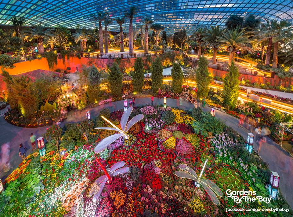 Garden By The Bay Flower Festival gardensthe bay garden lantern festival archives - sengkang babies