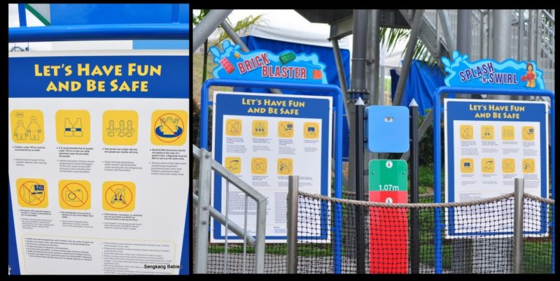 Legoland Water Park Height limit