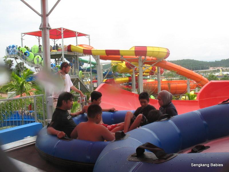 Legoland water park family friendly ride