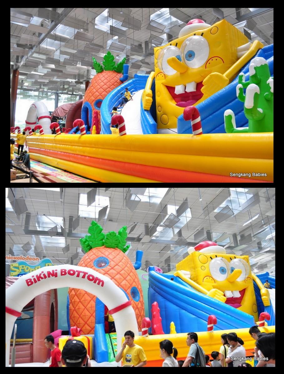 SpongeBob bouncing castle, Changi bouncing castle