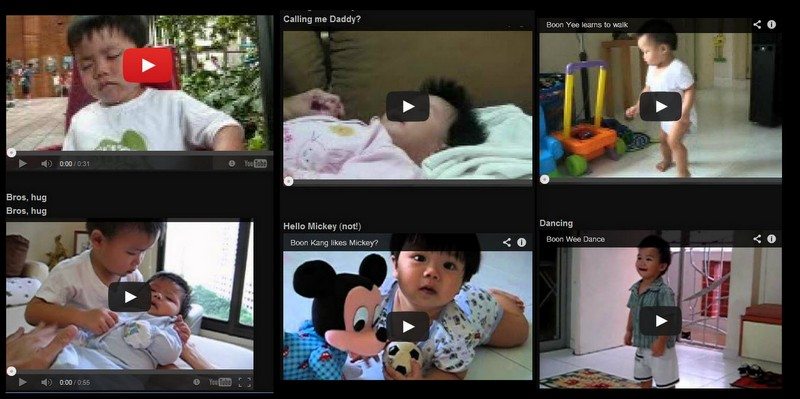 Family videos, how to upload to youtube