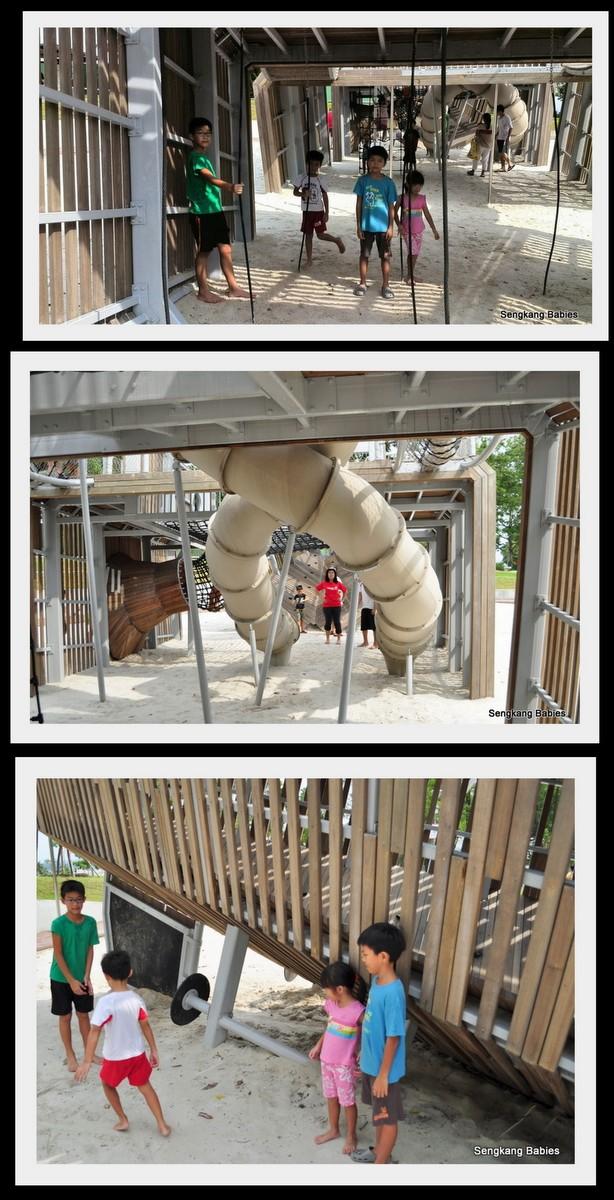 Sembawang park playground slides
