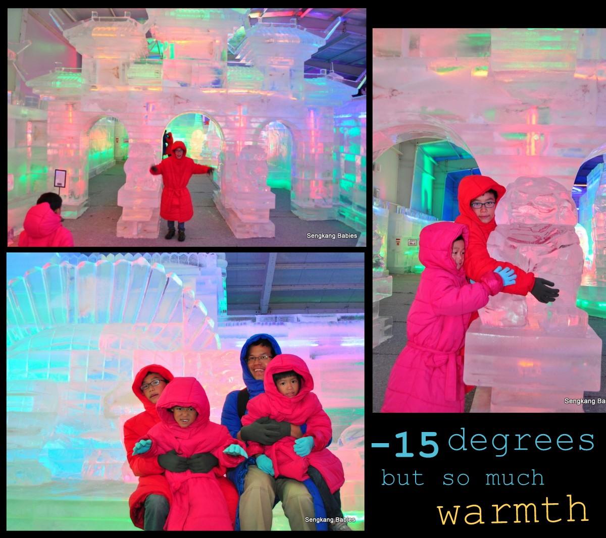 2 degree ice art, ice art exhibition