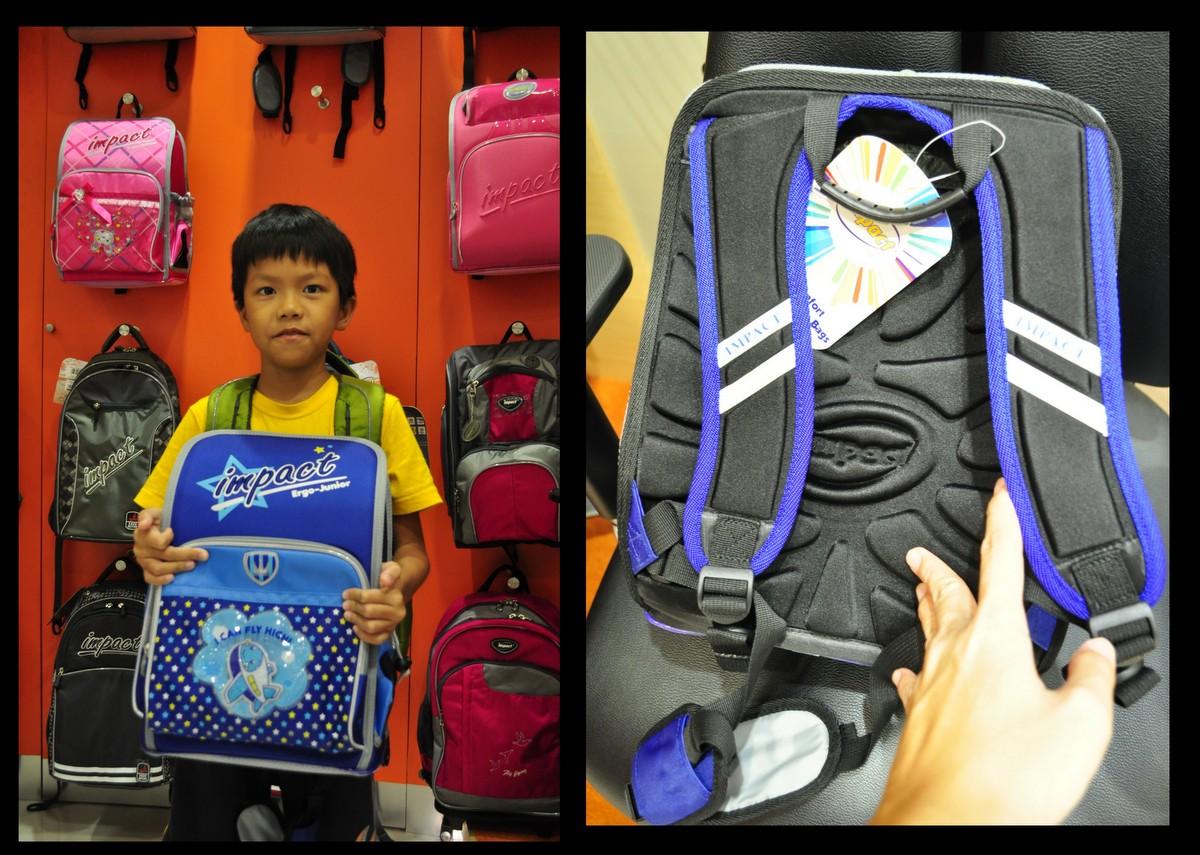 School bag with wheels singapore - Daddy