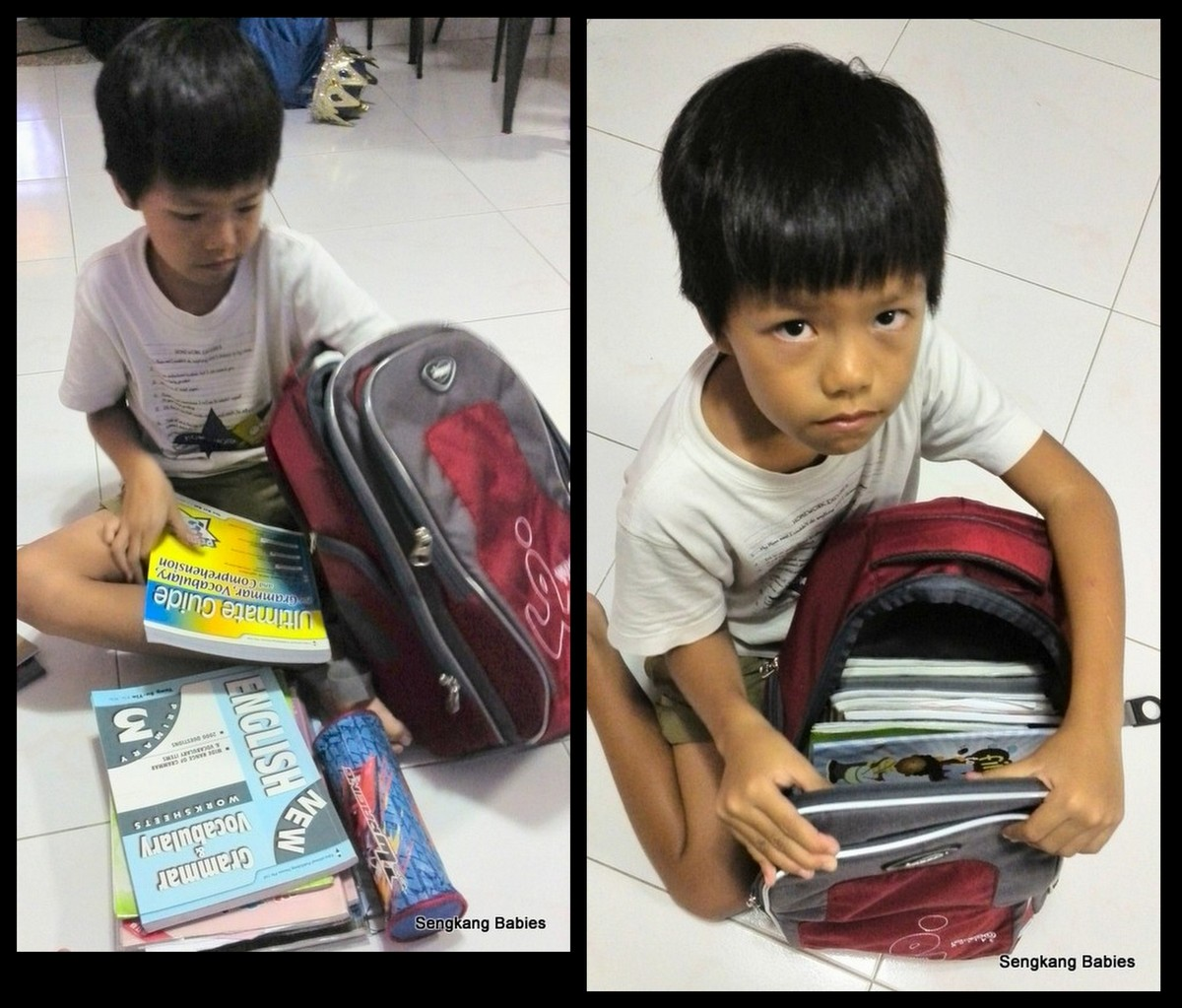 School bag with wheels singapore - P1 School Bag Too Heavy School Bags With Rollers