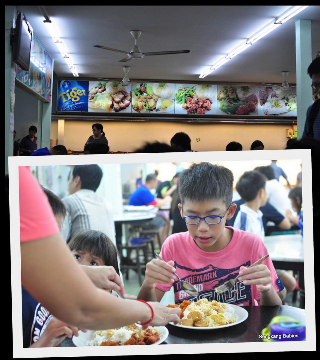 Mixed rice Johor, Mixed Rice Malaysia