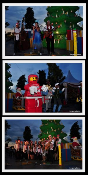 LEgoland Christmas Tree lightup