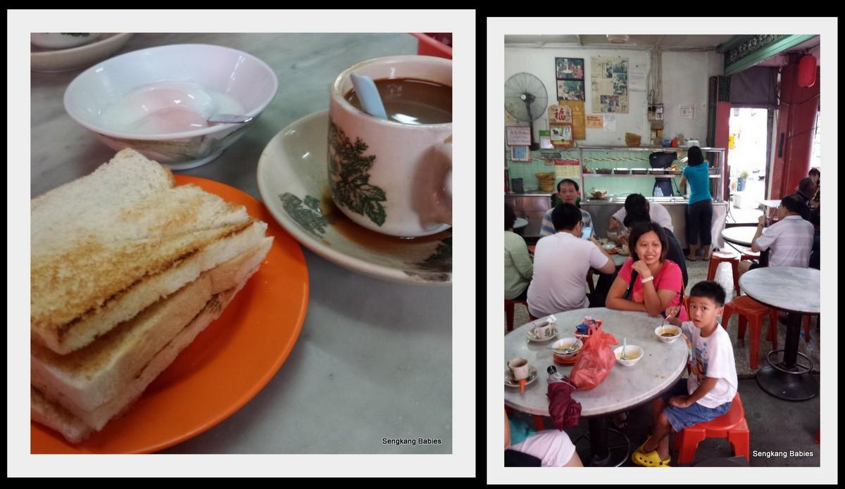 Kopi Toast in Johor, popular coffee shop Johor