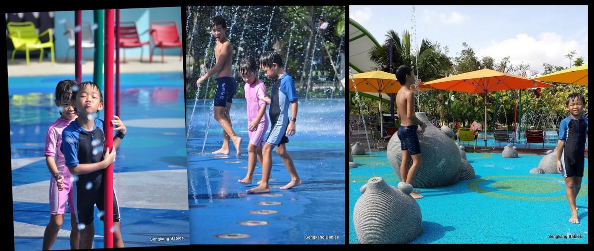 Feo playground water bucket, SengkangBabies Feo