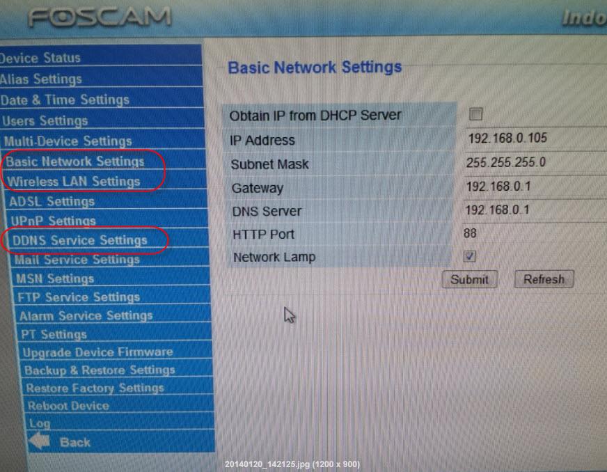 Foscam Wireless IP camera - Sengkang Babies