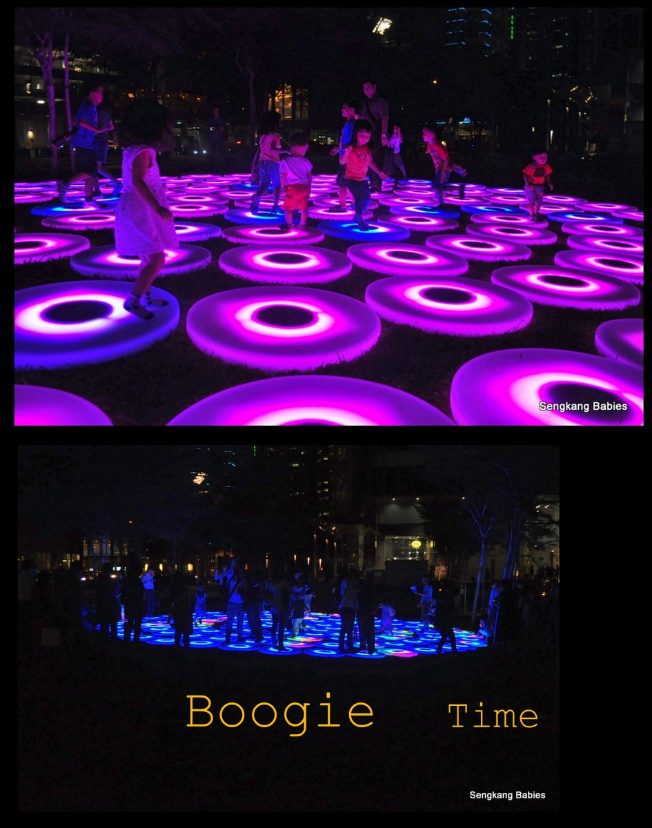 Dancing pods ilight