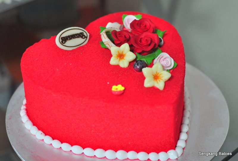 Swensen's Mother Day cake