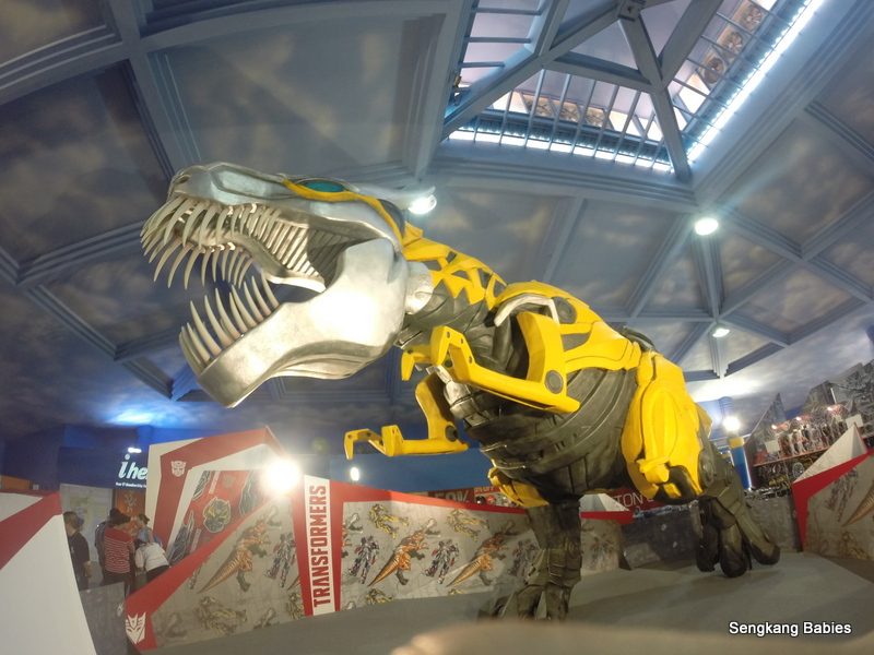 Grimlock Exhibition