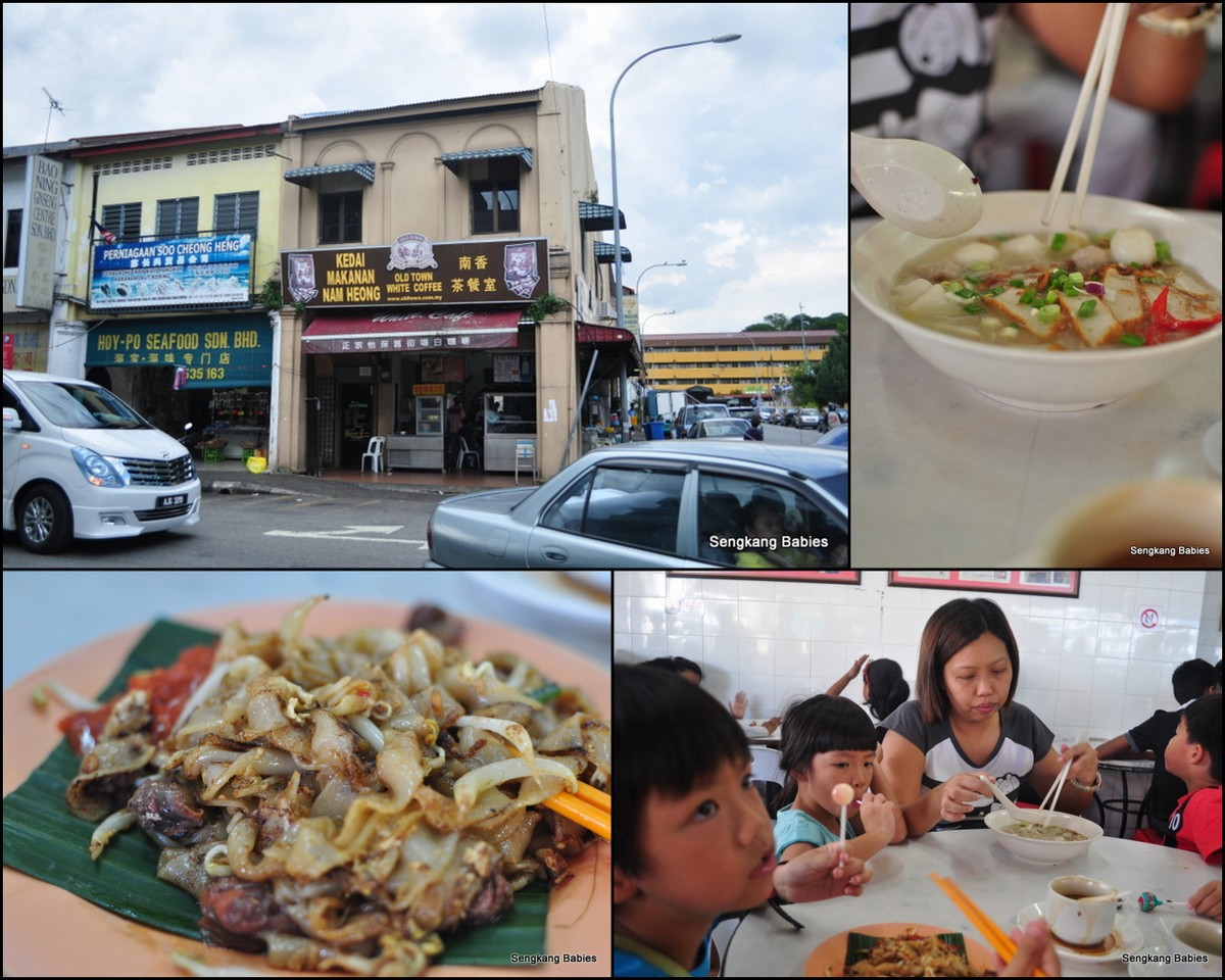 Famous White Coffee Ipoh
