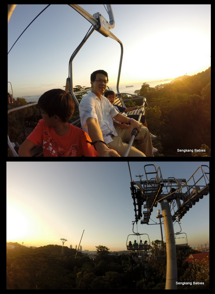 best time to luge, sunset Sentosa luge