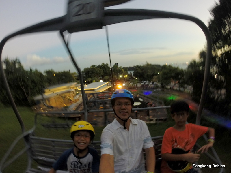 How to go up to Sentosa Luge