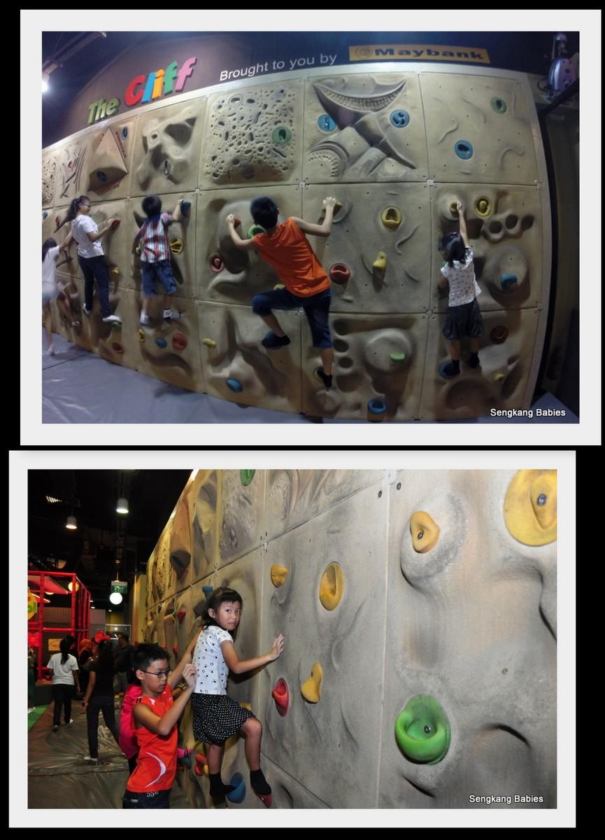rock wall Singapore