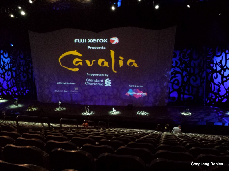How to go to Cavalia Singapore