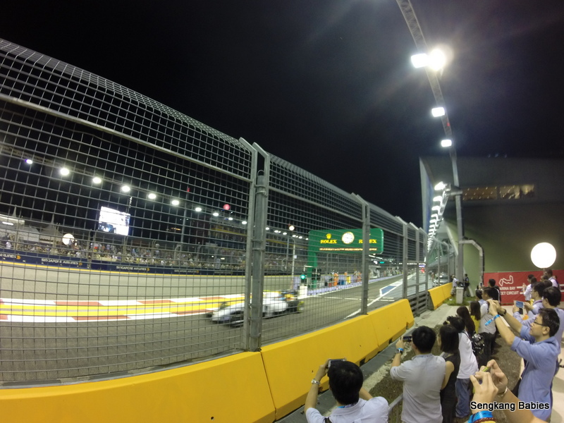 F1 Singapore Pit Lane Exit