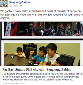 Far East Square food vouchers