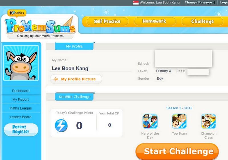 Singapore Math Portal