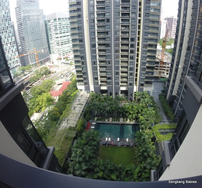 EO Residences pool