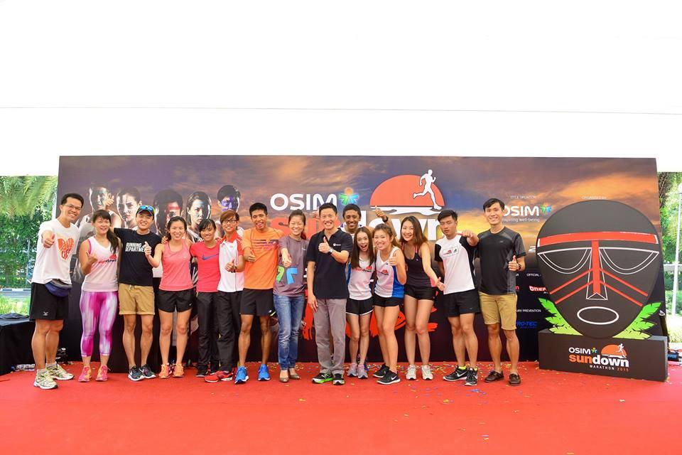 sundown Marathon ambassadors