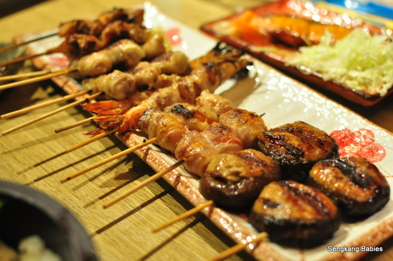 japanese skewered meat