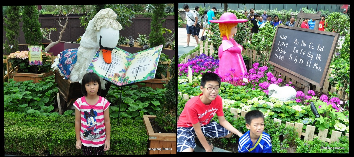 Nursery rhymes Gardens by the Bay