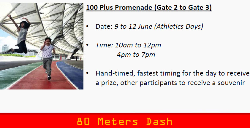 80 metres fastest boy girl dash