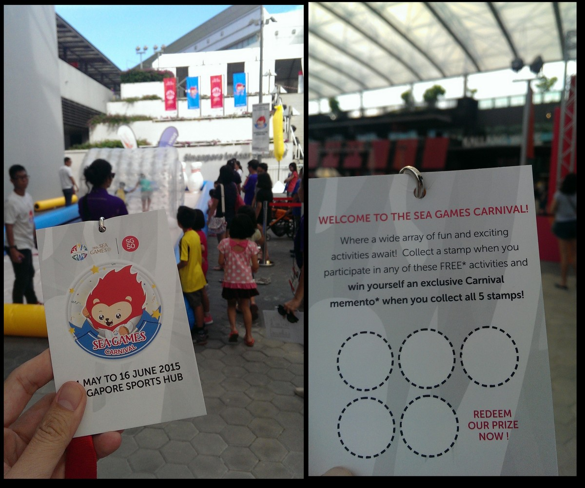 Seagames goodie bag