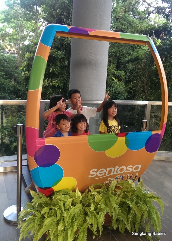 New Sentosa Cable Car Line