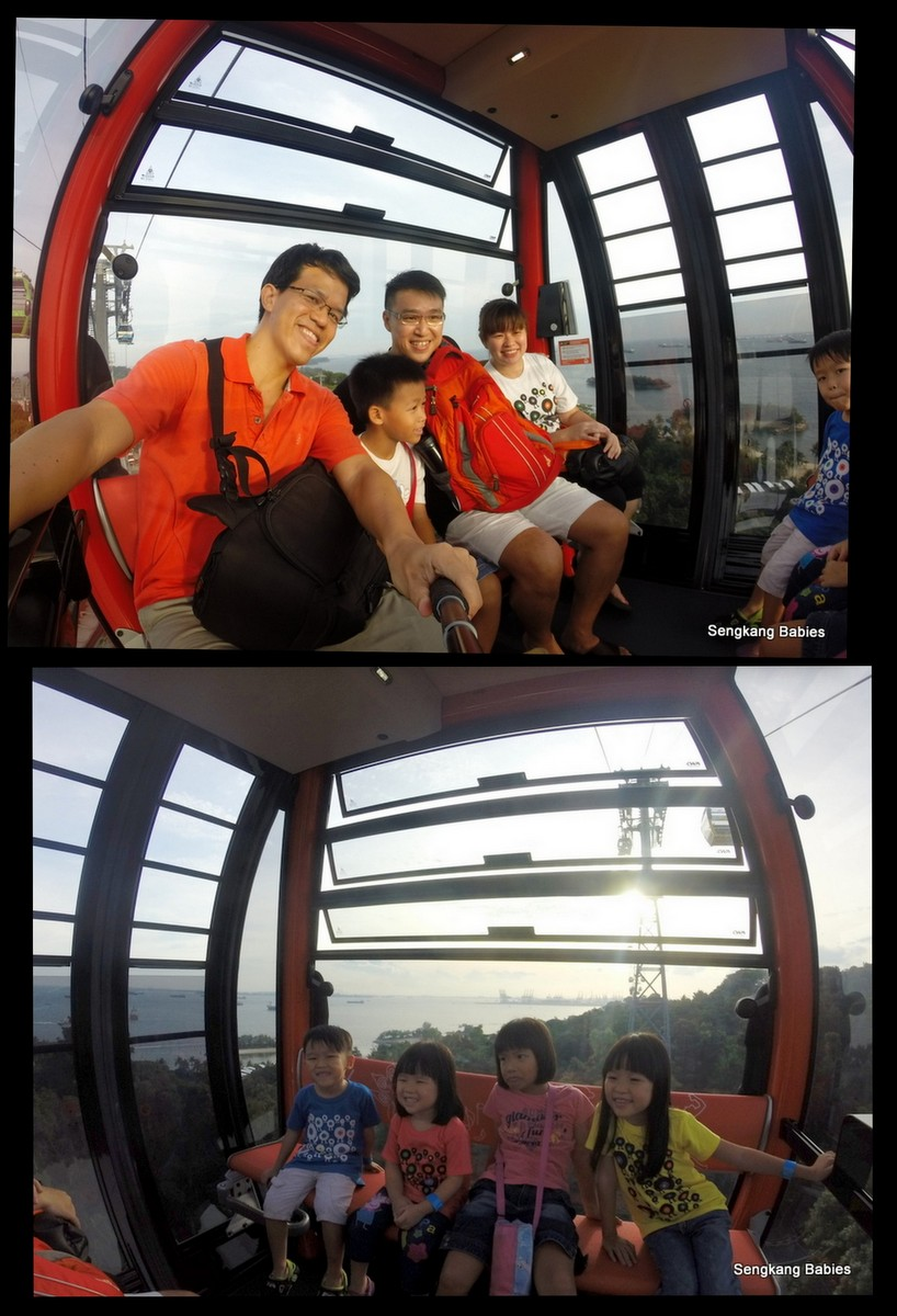 Is Singapore cable car shaky