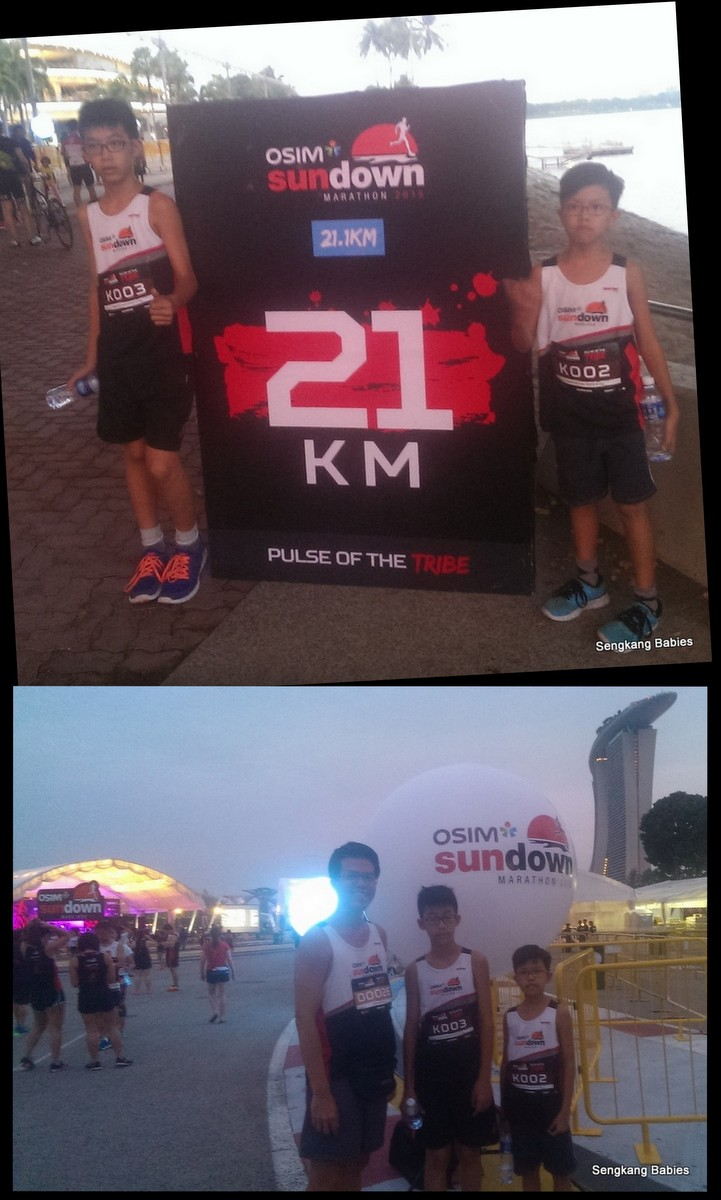 Osim Sundown Marathon 5km family