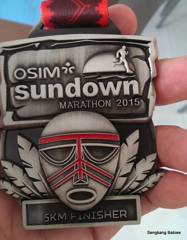 Sundown Marathon finisher medal