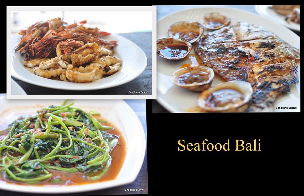 Bali seafood