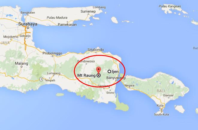 Indonesia volcano activity
