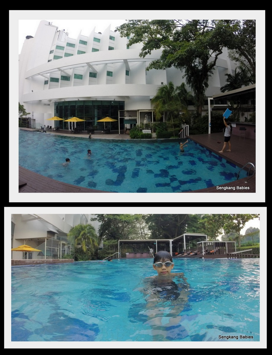 Village hotel changi staycation sengkang babies for Can babies swim in saltwater pools