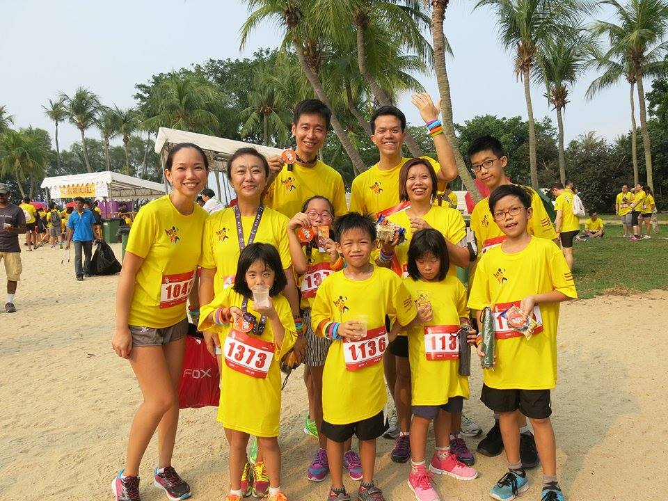 families at MAD Race