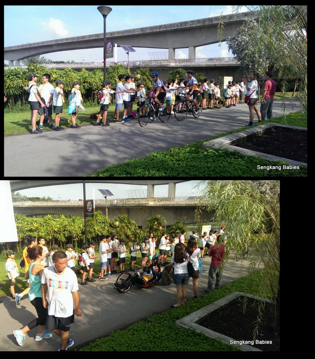 20151114 millenia kids cycling 5km sengkang health