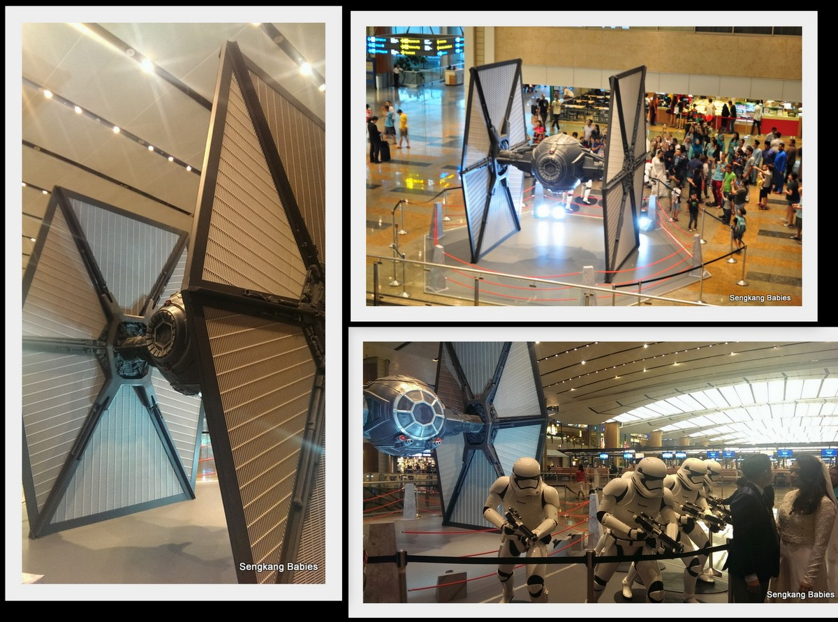 Changi Airport TIE fighter