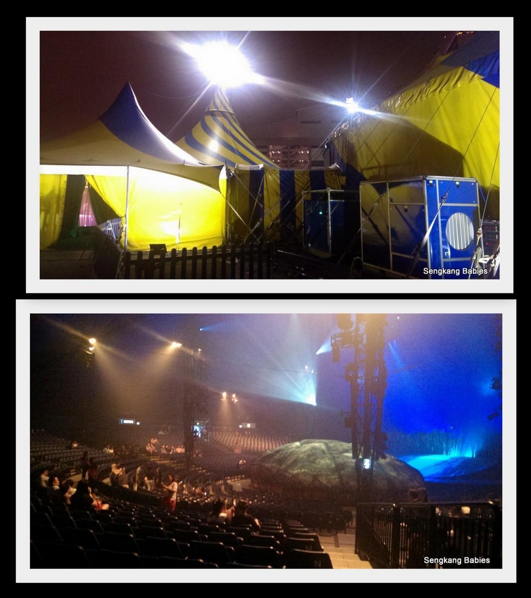 Cirque du Soleil Big top