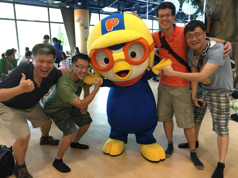 Dads and Pororo