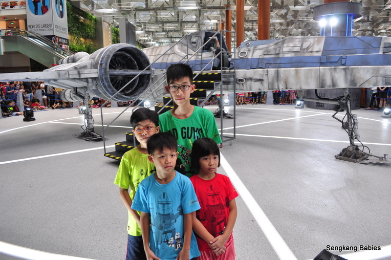 Family photo xwing Changi