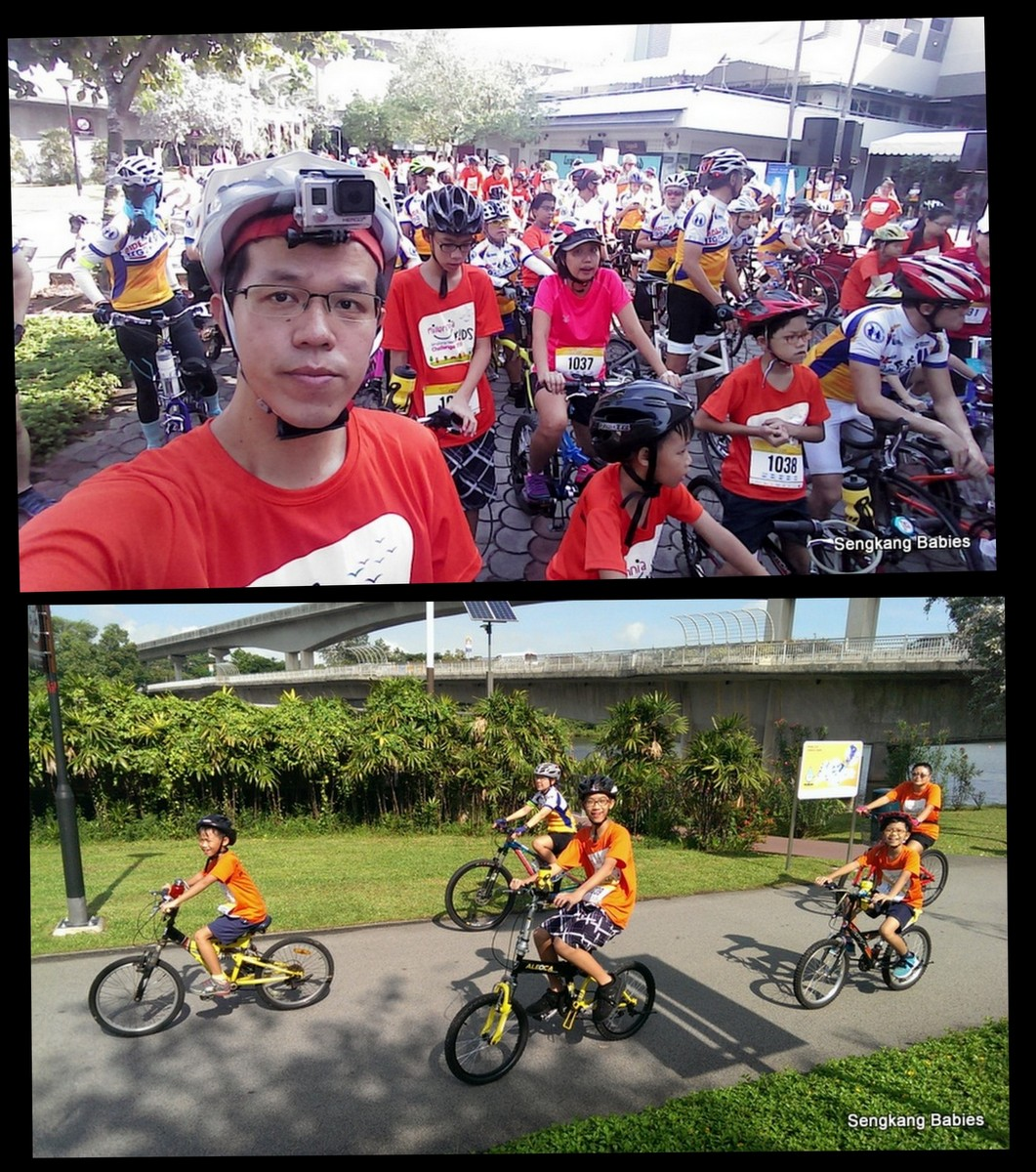 millenia kids challenge cycling