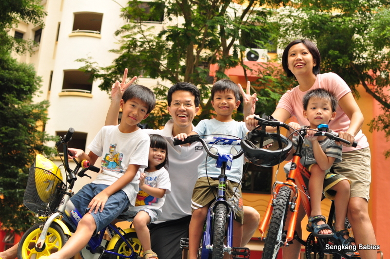 Millennia Kids Challenge cycling