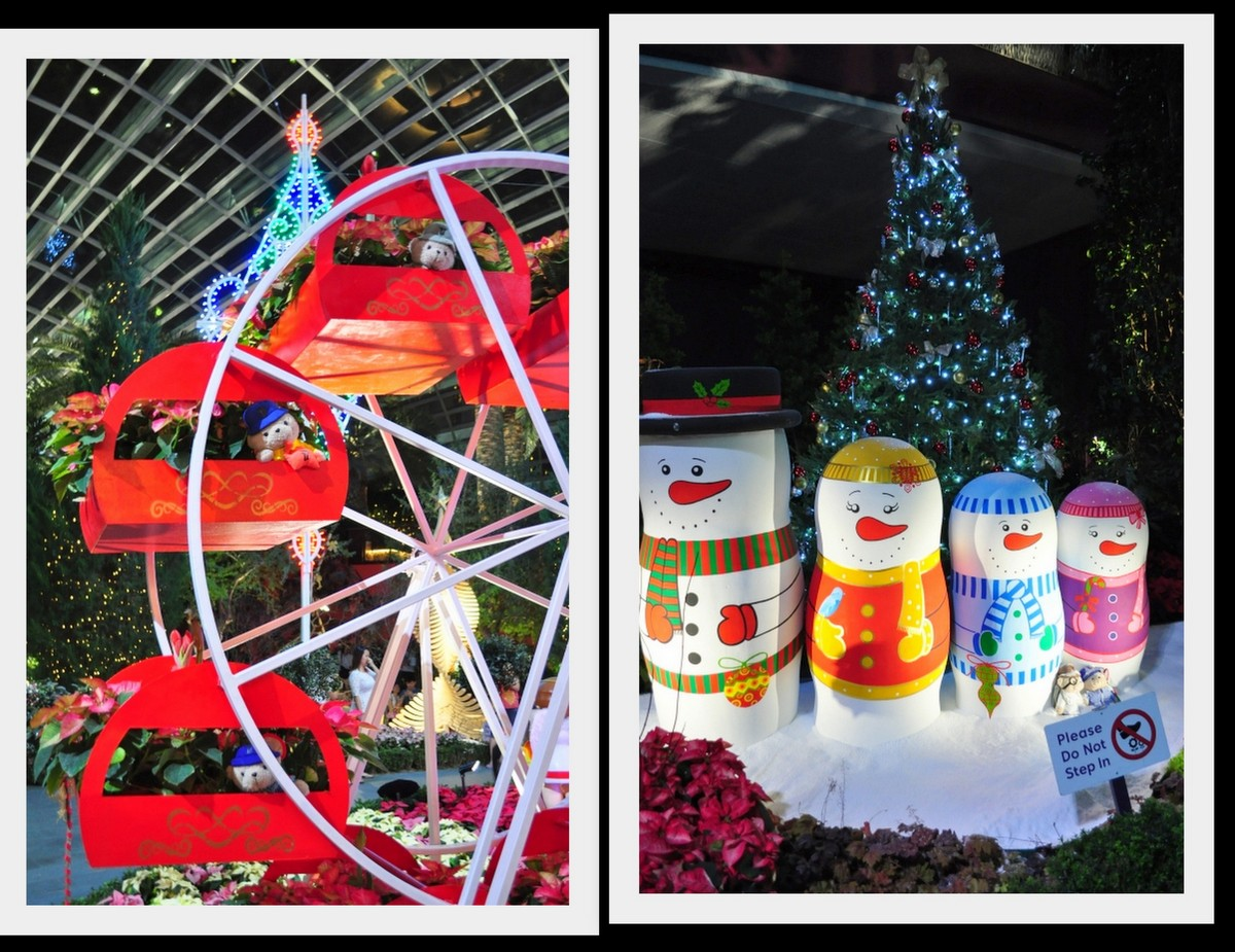 Christmas Toyland Flower Dome