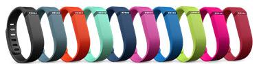 Fitbit Flex colourful